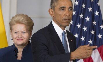 Barackas Obama, Dalia Grybauskaitė