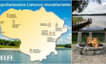 Stovyklavietės Lietuvoje