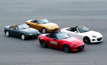 Keturios Mazda MX-5 kartos