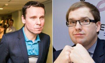 Raimondas Kurlianskis ir Vytautas Gapšys
