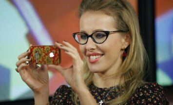 Anatolijaus Sobčako dukra, TV laidų vedėja Ksenija Sobčak