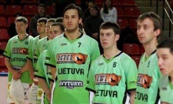 Kauno krepšinio lygos komanda (R.Lukoševičiaus nuotr.)