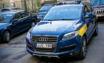 Muitinininkai naudos iš kontrabandininko konfiskuotą Audi Q7