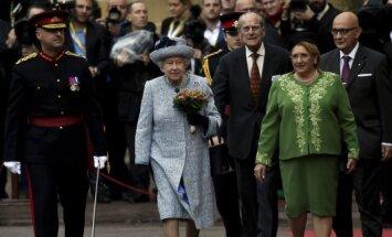 Karalienė Elžbieta II, Maltos prezidentė Marie Louise Coleiro