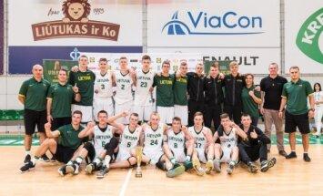 Lietuvos 16-mečiai krepšininkai
