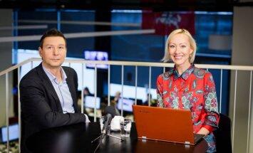 Andrius Kaluginas ir Agnė Mackonė