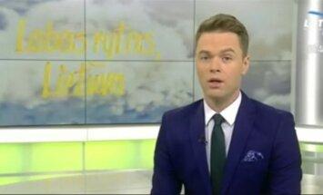"Ignas Krupavičius, ""Labas rytas"" laidos akimirka"