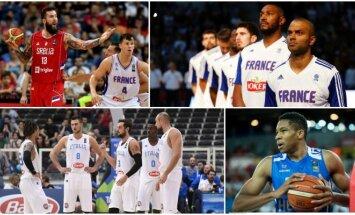 Prasideda olimpinis krepšinio atrankos turnyras (AFP, SIPA ir LaPresse nuotr.)