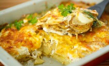 Bulvių ir salierų apkepas