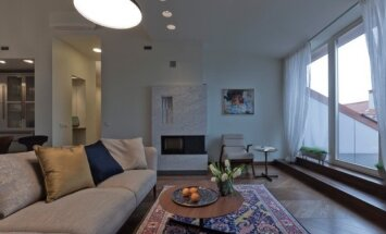 140 kv.m butas palėpėje: kai rezultato neužgožia net pro langą matomas Vilniaus senamiestis