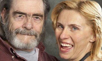 Egidija Bailie su vyru Davidu
