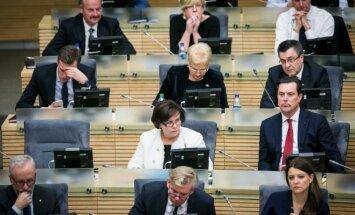 At the Seimas