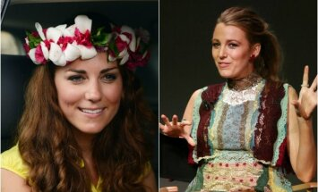 Hercogienė Kate Middleton ir aktorė Blake Lively