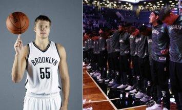 Egidijus Mockevičius vis dar tikisi praverti NBA duris (AFP ir Vida Press nuotr.)