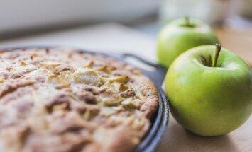 Obuolių pyragas, kurį pamėgs visa šeima