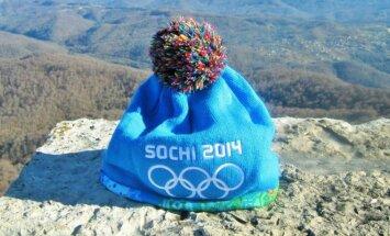 Sočio olimpinė kepuraitė