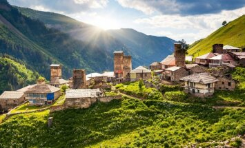 Gruzijos kraštovaizdis