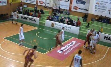 Peštynės RKL rungtynių metu