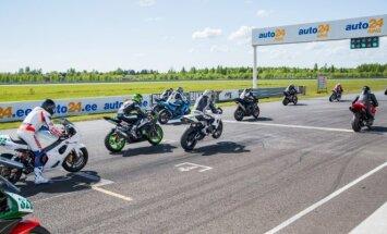 Motociklininkų varžybos