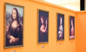 Interaktyvi Leonardo da Vinčio išradimų paroda