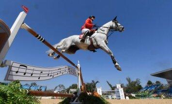 Olimpinės žirgų konkūrų varžybos