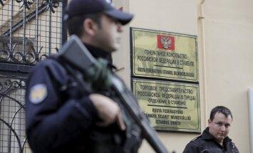 Turkijos specialiosios pajėgos ėmėsi saugoti Rusijos diplomatinę atstovybę Stambule