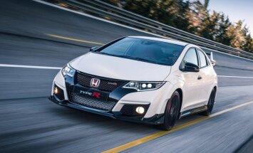 Paspaudžiate pedalą, o jūsų Honda Civic Type R šaukia iš išgąsčio...