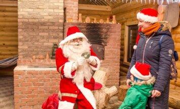 Kalėdų miestelio atidarymas Atostogų parke