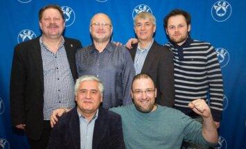 """Vytautas Vainikonis su komandos draugais """"Reisinger"""" turnyre"""