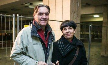 Algirdas Kaušpėdas su žmona Vilija