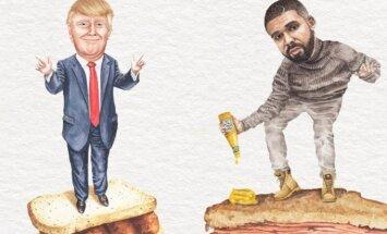 Donaldas Trumpas, Drake'as