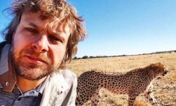 Benediktas Vanagas Afrikoje