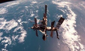 Kosminė stotis Mir. Gyvenimas kosmose
