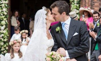 Belgijos princesės  Alix de Ligne vestuvės