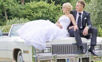 Karolis Akulavičius  su žmona