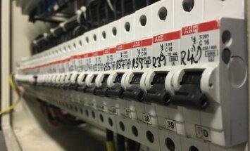 Elektros saugikliai ir jungikliai