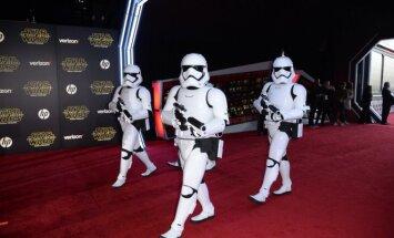 Žvaigždžių karai: galia nubunda premjera