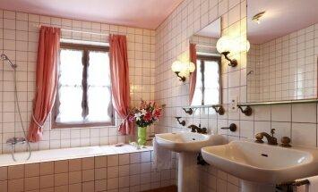 Vonios veidrodžių karalystėje (foto)