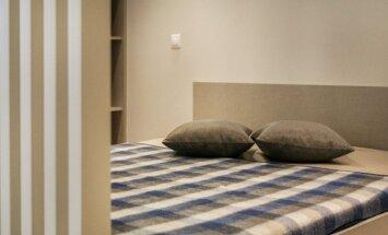 Vieno kambario butas Vilniuje, kuriame nėra nepanaudotos erdvės