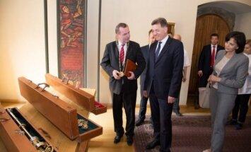 A. Butkevičius apsilankė Prahos Karolio universitete