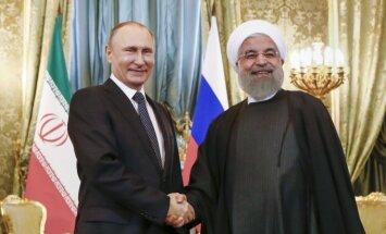 H. Rouhani ir V. Putinas