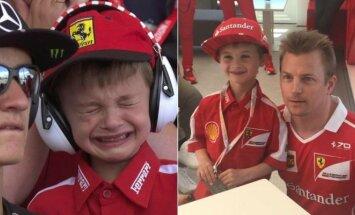 Jaunasis Ferrari fanas ir Kimi Raikkonenas