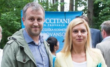 Liutauras Čeprackas ir Laura Čepukaitė