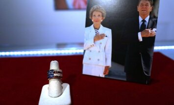 Niujorke rengiamas R. Reagano ir jo žmonos daiktų aukcionas