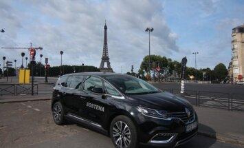 """""""Renault Espace"""" kelionėje"""