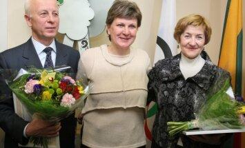 Gen. Jonas Andriškevičius, Lina Kačiušytė, Vilija Andriškevičienė