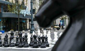 Šachmatai Gedimino prospekte
