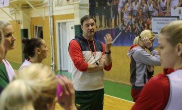 BC Sūduva vyr. treneris Rimvydas Samulėnas