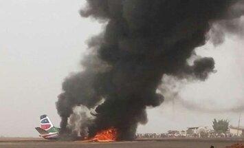 Pietų Sudane sudužo lėktuvas