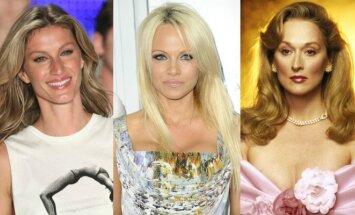 Gisele Bundchen, Pamela Anderson, Meryl Streep